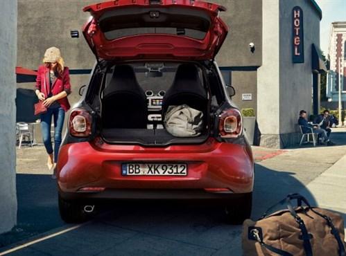 Nuova smart forfour prezzi e dotazioni for Prezzi del garage della carrozza