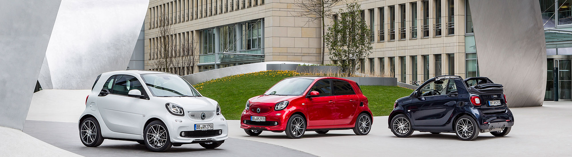 smart usate fortwo e forfour