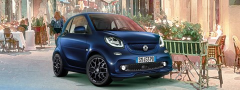 smart fortwo parisblue